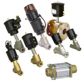 pneumatski cilindri i elektromagnetski i zrakom upravljani ventili